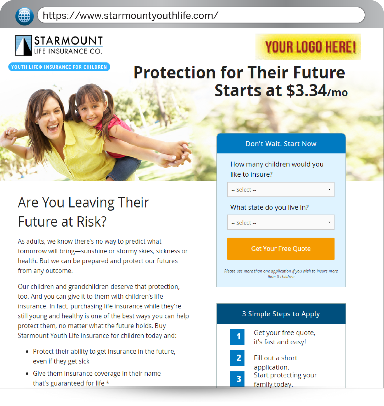 Individual Life Insurance Quotes Starmount Life  Individual Insurance  Sell Dental Insurance